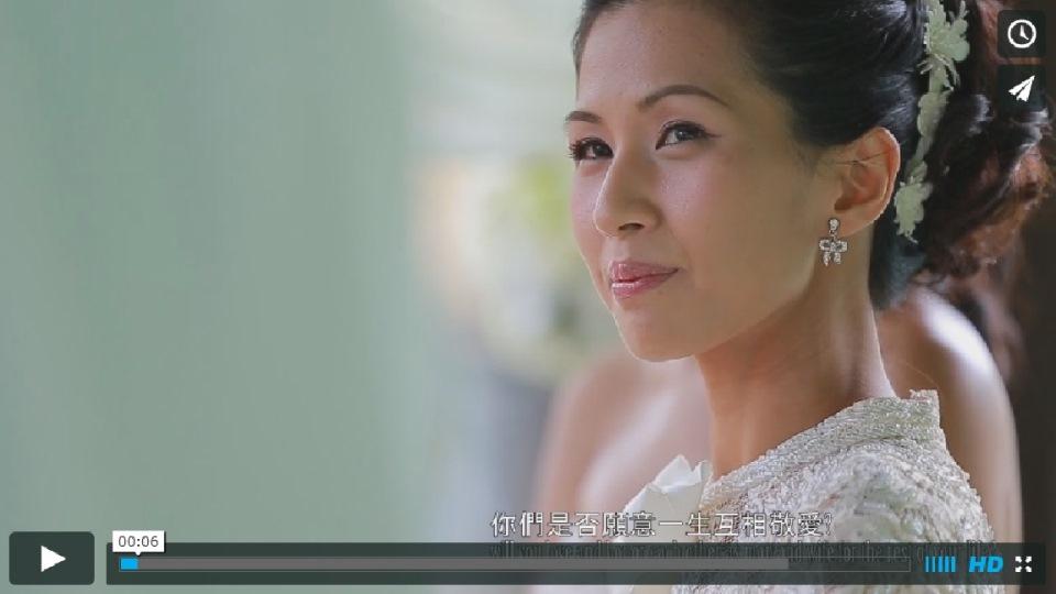 台南婚禮錄影 桂田飯店戶外證婚精華MV