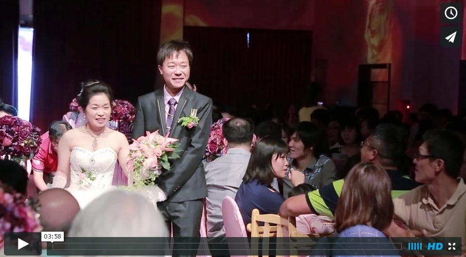 屏東婚禮錄影  動堂堂婚禮紀錄工作室+ 屏東婚禮紀錄+高雄結婚錄影+南部5D3動態攝影~103.11.30屏東和樂餐廳結婚喜宴精華MV