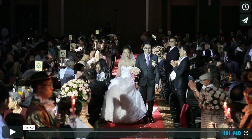 台南婚錄 104.07.04暉斌&怡菁 台南大億麗緻迎娶午宴精華MV 台南婚禮錄影
