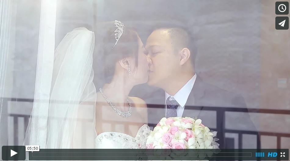 雲林婚禮錄影104.08.15智永&欣燕 土庫天主堂證結精華MV 高雄結婚錄影