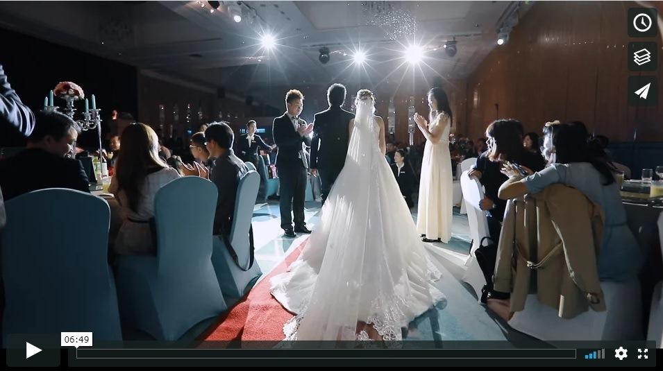 高雄結婚錄影動堂堂 老師超熱力百老匯動感舞蹈進場 南部動態攝影 推薦