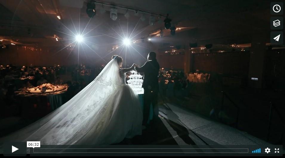 高雄婚錄動堂堂 106.12.06 峰與瑄 巨蛋金龍廳訂結晚宴 結婚錄影 動態攝影